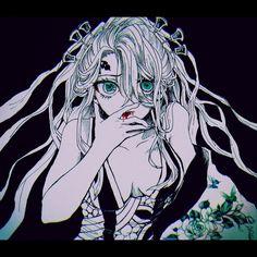 Twitter Anime Demon, Anime Manga, Anime Art, Demon Slayer, Slayer Anime, Deadman Wonderland, Gekkan Shoujo, Fanart, Demon Hunter