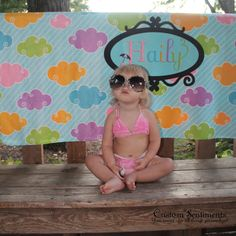 Custom Personalized Beach Towel Design Your by CustomSentiments, $47.50