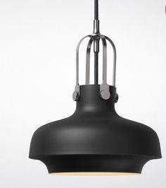 &Tradition's Copenhagen SC6 pendant light is a modern update on a retro design.