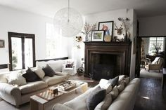 Inspired by This Cozy Neutral Home with Wood Accents | Inspired by This BlogInspired by This Blog