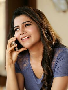 Downaload samantha prabhu, indian model, smile, talking on phone wallpaper, Samantha In Saree, Samantha Ruth, South Indian Actress, Beautiful Indian Actress, Indian Celebrities, Beautiful Celebrities, Beautiful People, Samantha Images, Couple Photoshoot Poses