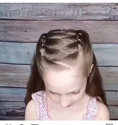 The Effective Pictures We Offer You About toddler hairstyles girl clips A quality picture can tell y Girls Hairdos, Easy Little Girl Hairstyles, Cute Little Girl Hairstyles, Baby Girl Hairstyles, Princess Hairstyles, Braided Hairstyles, Toddler Hairstyles, Toddler Hair Dos, Latest Hairstyles