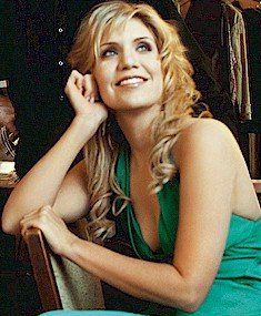 I want Alison Krause to just follow me around all day singing.