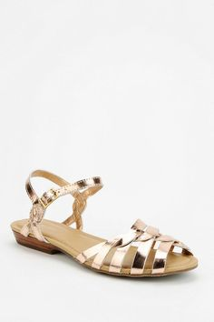 We're in love with these sweet, strappy sandals from a totally unexpected brand: Bass Clementine Twist Sandal, $69