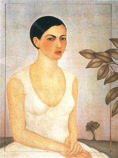 Portrait of Cristina My Sister by Frida Kahlo, 1928.