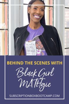 Julie chats with one of her Subscription Box Bootcamps, Brittany Rhodes, founder of the Black Girl MATHgic subscription box. We'll get to hear how Brittany got into the subscription box business and the Black Girl MATHgic launch story. Complete Plan for Subscription Box, Subscription Boxes Ideas, Business Plan, Female Entrepreneur Tips, Subscription Boxes for women, Subscription Box Bootcamp, How to start subscription box business! #subscriptionbox #businessplan #businessidea