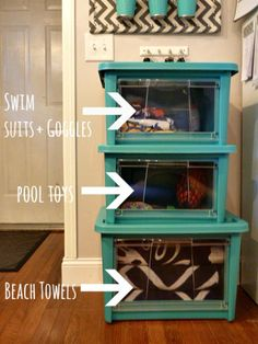 Organizing pool items #AllAccessOrganizers #Pmedia