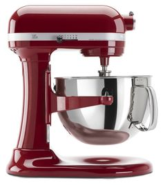 KitchenAid KP26M1XER 6 Qt. Professional 600 Series - Empire Red >>> Read more  at the image link.
