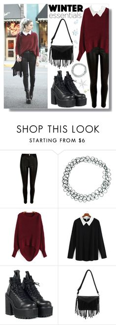 """Winter Wardrobe Staples"" by enola-pycroft ❤ liked on Polyvore featuring River Island, ASOS and UNIF"