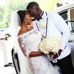 Congratulations @sw33tlypss and @dr_tone  Happy married life!  #welovelove #weddinginspiration #bride #groom #groominspiration #idonigeria