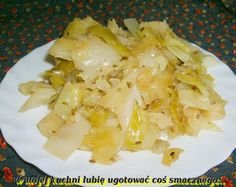W Mojej Kuchni Lubię.. - In My Kitchen I like ..: młoda kapusta z kminkiem na ostro... Cabbage, Rice, Stuffed Peppers, Vegetables, Food, Stuffed Pepper, Essen, Cabbages, Vegetable Recipes