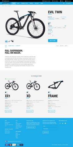 Bike product page