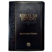 Biblia Sagrada Com Letra Grande Rc Capa Flexivel Preta
