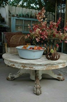 Shabby rustic table