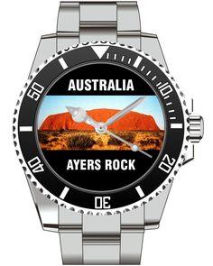 Ayers Rock Uluru Australien Australia - KIESENBERG ® Uhr 2521 von UHR63 auf Etsy
