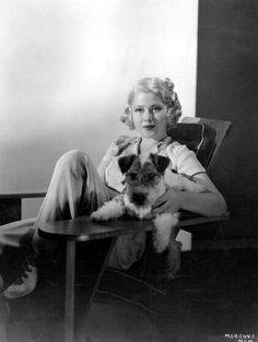 Mary Carlisle and her dog, Sammy
