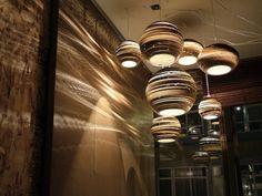 """Pendelleuchten Design mit umweltfreundlichem Konzept - """"Scraplights"""""""