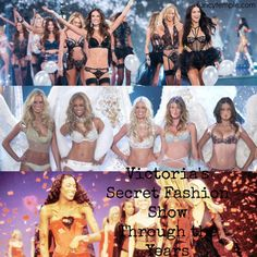 Victorias Secret Fashion Show Throughout the Years: ...