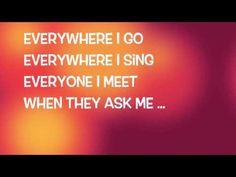 """My first love"" Jamie Grace (Lyric video) - YouTube"