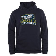 La Salle Explorers Big & Tall Classic Primary Pullover Hoodie - Navy