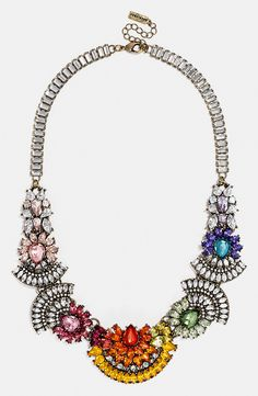 Hoping to get this BaubleBar ombré crystal necklace for Christmas.