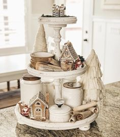 Are you searching for pictures for farmhouse christmas tree? Check this out for amazing farmhouse christmas tree images. This cool farmhouse christmas tree ideas will look absolutely fantastic. Farmhouse Christmas Decor, Rustic Christmas, Christmas Home, All Things Christmas, White Christmas, Christmas Trees, Christmas Villages, Victorian Christmas, Christmas Decorating Ideas
