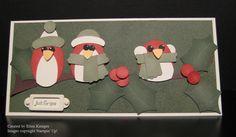 Great punch art birds by Ellen Kemper