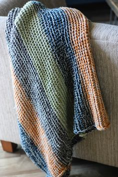 Rustic comfy blanket