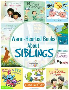 wonderful picture books about brothers, sisters, and brother and sister siblings