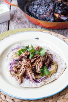 Persian Lamb... because Pork isn't the only meat one can pull! This looks so tasty! I cannot wait to try it! I love Lamb. (I love Lamp?!) Baha ha ha ha