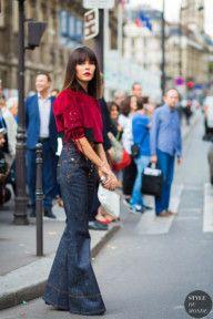 STYLE DU MONDE / Paris SS 2017 Street Style: Evangelie Smyrniotaki  // #Fashion, #FashionBlog, #FashionBlogger, #Ootd, #OutfitOfTheDay, #StreetStyle, #Style