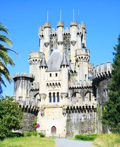 Castle.... Castillo de Butron, Gatika, Basque Country, Spain