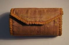 1840 silk sewing roll house wife, early and nice