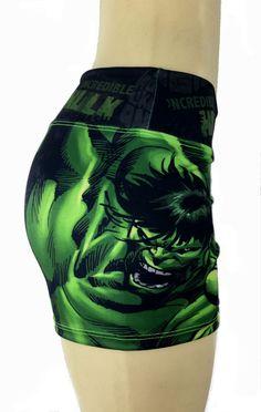 S2 Activewear - Hulk Mad Shorts - Roni Taylor Fit  - 1