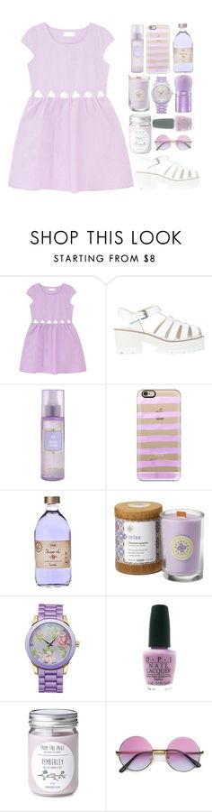 """""""♫ They call me cry baby, cry baby ♫"""" by brigette002 ❤ liked on Polyvore featuring Windsor Smith, Casetify and OPI"""