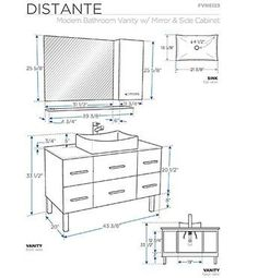 What is the Standard Height of a Bathroom Vanity | From ...