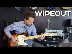 Wipeout - The Ventures (Songs Guitar Lesson How to play Easy Guitar, Guitar Tips, Guitar Songs, Guitar Chords, Cool Guitar, Surf Guitar, Simple Guitar, Surf Music, Music Chords
