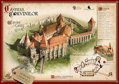 CORVINS' CASTLE - Transylvania on Behance