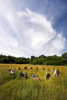 Ancient stone circle medieval ireland Photograph by Pierre Leclerc - Ancient stone circle medieval ireland Fine Art Prints and Posters for Sale