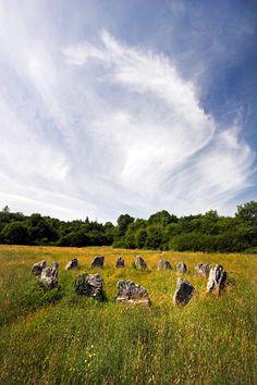 Ancient stone circle medieval ireland Photograph  - Ancient stone circle medieval ireland Fine Art Print