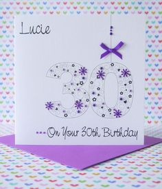 My lovely friend and neighbour asked me to make an 80th birthday details about personalised handmade birthday card 16th18th21st30th40th50th60th70th80th bookmarktalkfo Image collections
