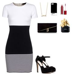 """""""Untitled #329"""" by patrisha175 ❤ liked on Polyvore featuring Dsquared2, Pull&Bear, Solange Azagury-Partridge, Head Over Heels by Dune and Lola Cosmetics"""