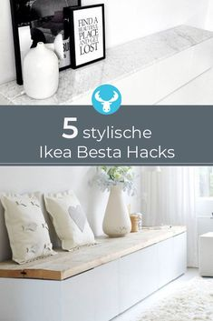 We'll show you 5 hacks that will make your Ikea Besta Regal look like new . - Before After DIY Cheap Patio Furniture, How To Clean Furniture, Furniture Logo, Retro Furniture, Ikea Furniture, Online Furniture, Urban Furniture, Furniture Cleaning, Furniture Removal