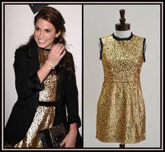 Nanette Lepore Lucky Leopard Dress. Seen on America Ferrera &amp Eva ...