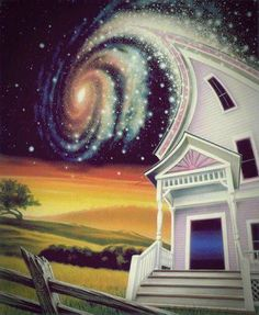 """spiritualevolution1111: """" When your vibration reaches that level where your whole house gets pulled into the void """""""
