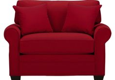 picture of Cindy Crawford Home Bellingham Cardinal Sleeper Chair  from Sleeper Chairs Furniture. $677