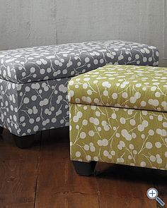 Looking for a storage bench/chest/ottoman.  Don't want to pay so much for it...