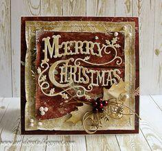 Merry Christmas card by Dorota Kopec