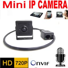 mini ip camera 720P micro 2.7mm lens home security system cctv surveillance small hd Built-in Microphone onvif video p2p cam