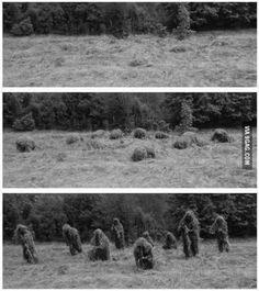Camuflaje nivel sniper  http://frikinianos.es/camuflaje-nivel-sniper/  #sniper #camuflaje #foto #frikada #ejercito